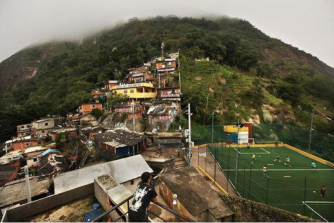 A favela in the mountains of Rio, NYT