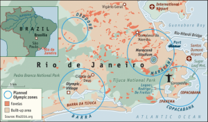 Map of the City of Rio, Al Jazeera