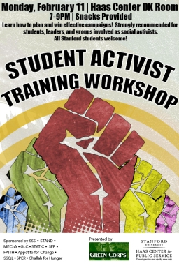 Activist workshop